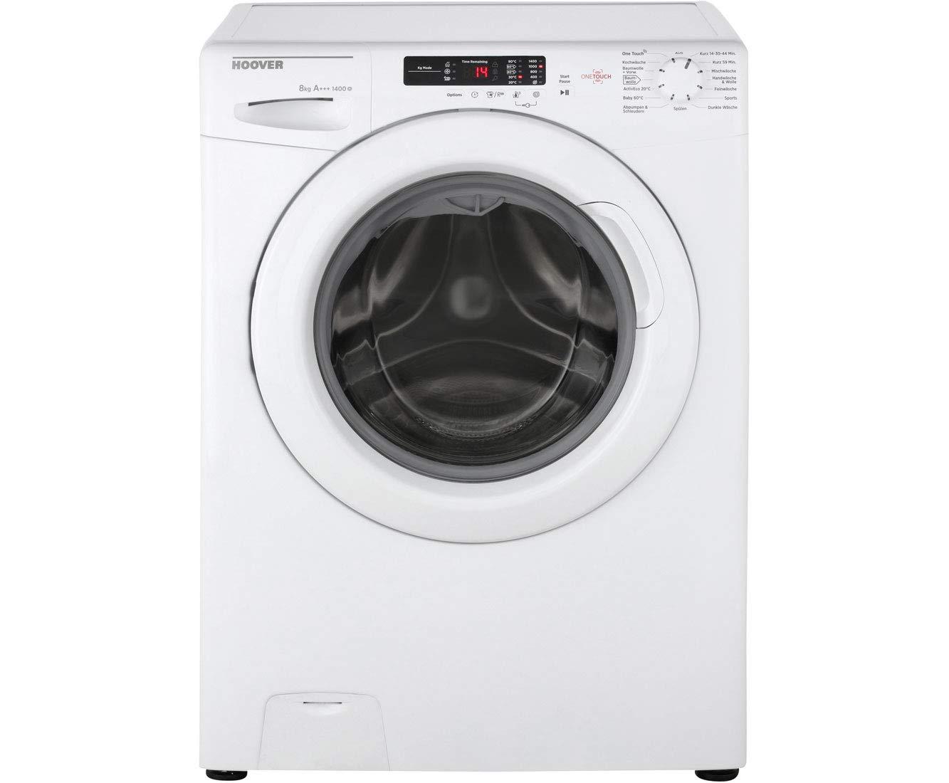 Hoover HLC o1482d3 – 84 lavadora 8 kg, 1400 U/min, A + + +: Amazon ...
