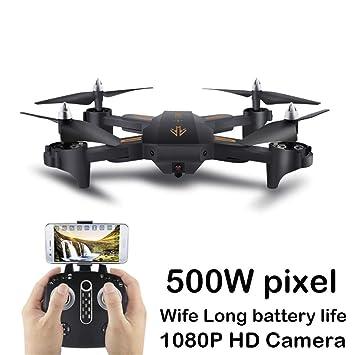 Clevoers - Dron teledirigido con Mando a Distancia (cuadricóptero ...
