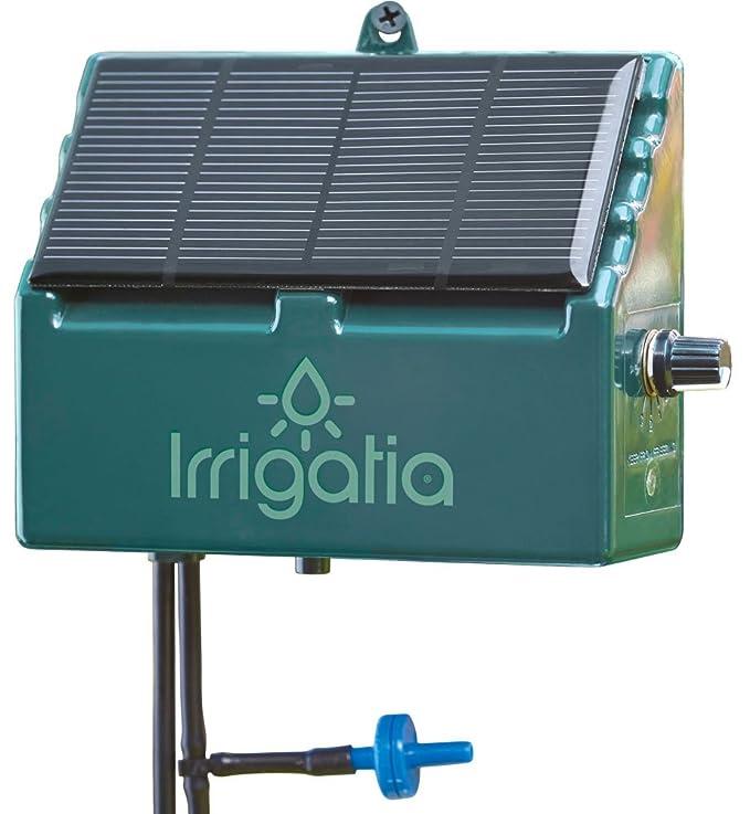 Irrigatia SOL-C12 - Sistema de riego automático por energía Solar Sensible al Tiempo: Amazon.es: Jardín