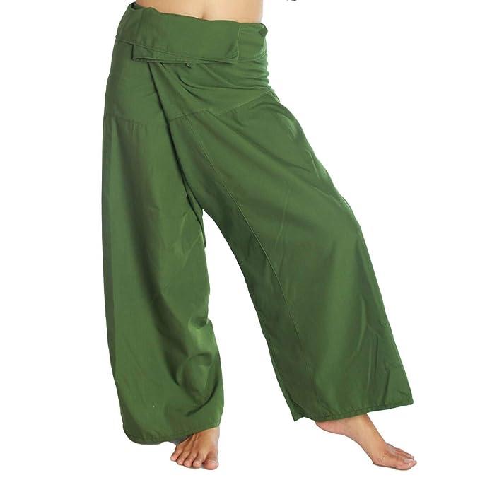 Siam Secrets Pantalones de Pescador tailandeses, Unisex ...