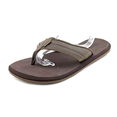 29839e71e2bb Flojos Mens Gage Thong Sandals (Brown