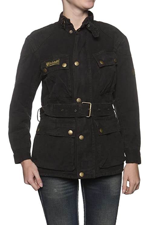 9a40c748a1 Belstaff Jacket CHE GUEVARA REPLICA JACKET , Color: Black, Size: 36:  Amazon.co.uk: Clothing