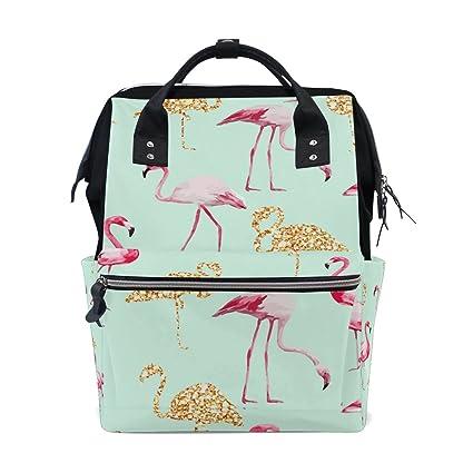 Bolsa de pañales para mamá, bolsa de pañales de mayor capacidad, mochila de viaje