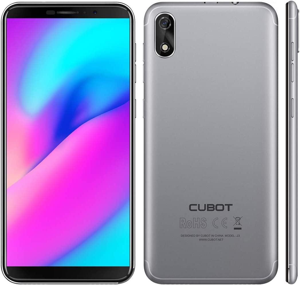 Cubot J3 Dual SIM Smartphone (12,63 cm (5 Pulgadas) Pantalla Full Wide VGA TN Touch, 1GB RAM, 16 GB ROM, Android 8.1 (Go Edition), sin Contrato, Face ID, GPS/A de GPS): Amazon.es: Electrónica