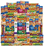 Healthy Bars, Nuts & Crackers Snack Pack Assortment by Variety Fun (Care Package 72 Count)