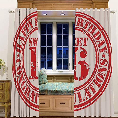 Finel Kids Curtains for Living Room Bedroom Window