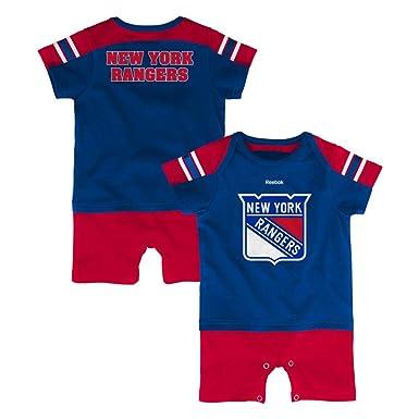 NFL New York Rangers Hockey ventilador Jersey bebé Pelele, Rojo: Amazon.es: Deportes y aire libre