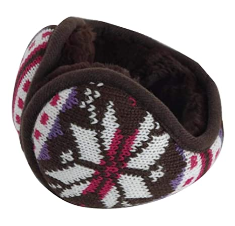 Mantenga su oído más cálido, Unisex plegable calentadores de oreja Fleece Winter EarMuffs