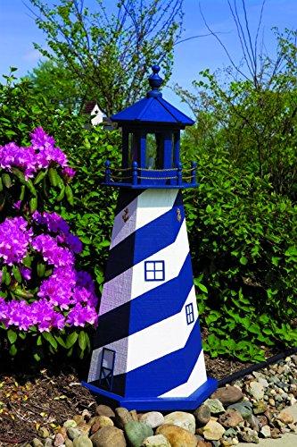 Cape Hatteras Lighthouse Base (3' Lighthouse - Cape Hatteras (White/Navy)