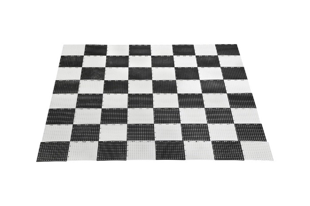 Plastic Uber Games Garden Checkers and Chess Game Board
