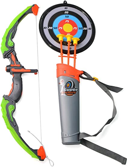 Amazon Com Sharrow Light Up Kids Archery Bow And Arrow Playset With Arrow Holder And Target Stand Sports Outdoors Also, the arrow stands for continuous growth and perseverance in achieving goals. amazon com