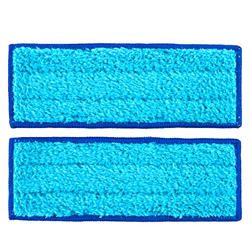 shuangjishan 2-Pack Wet Mopping Pads for iRobot Braava Jet 240 241 244, Washable & Reusable