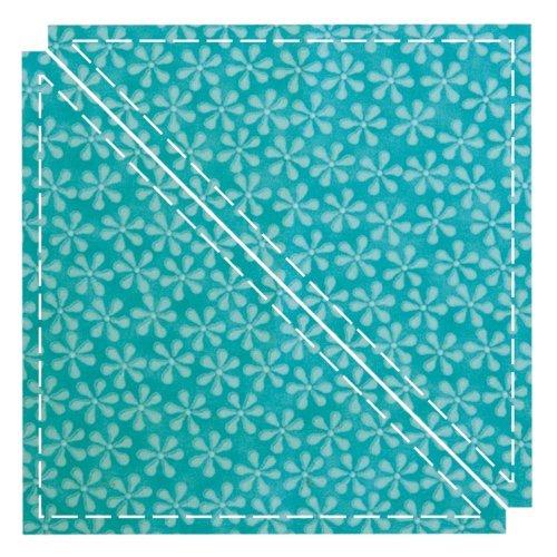 AccuQuilt GO! Fabric Cutting Dies; Triangle 6-1/2 inch; Quilt Block C