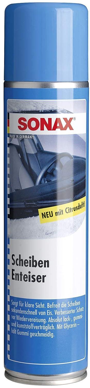 SONAX ScheibenEnteiser (500 ml) sekundenschnelles enteisen von Scheiben ohne kratzen und eine rundum klare Sicht im Winter   Art-Nr. 03312410 Sonax GmbH