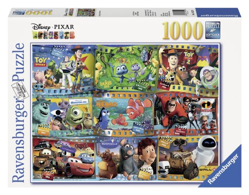 Ravensburger Disney Pixar: Disney-Pixar Movies (1000-Piece) - Jigsaw Puzzles 1000 Piece Disney