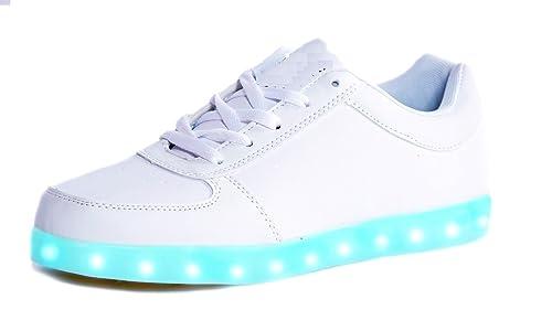 Chaussures Unisexe LED avec Usb Charge z7M0dv