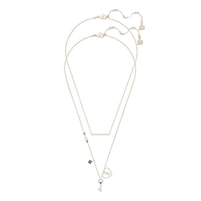 Swarovski Conjunto de collares Glowing Key, multicolor, mezcla de baños: Amazon.es: Joyería