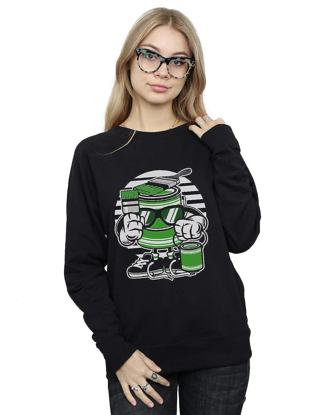 Absolute Cult Drewbacca Womens Lets Paint Sweatshirt