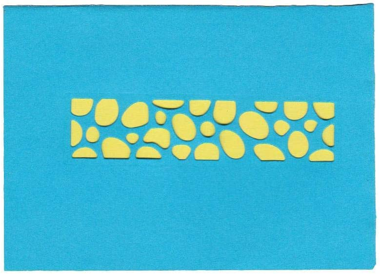 Demiawaking Fustelle per Scrapbooking Cutting Die DIY Scrapbooking Album Foto Segnalibro Mestiere Decorativo Stencil per Biglietti di Auguri