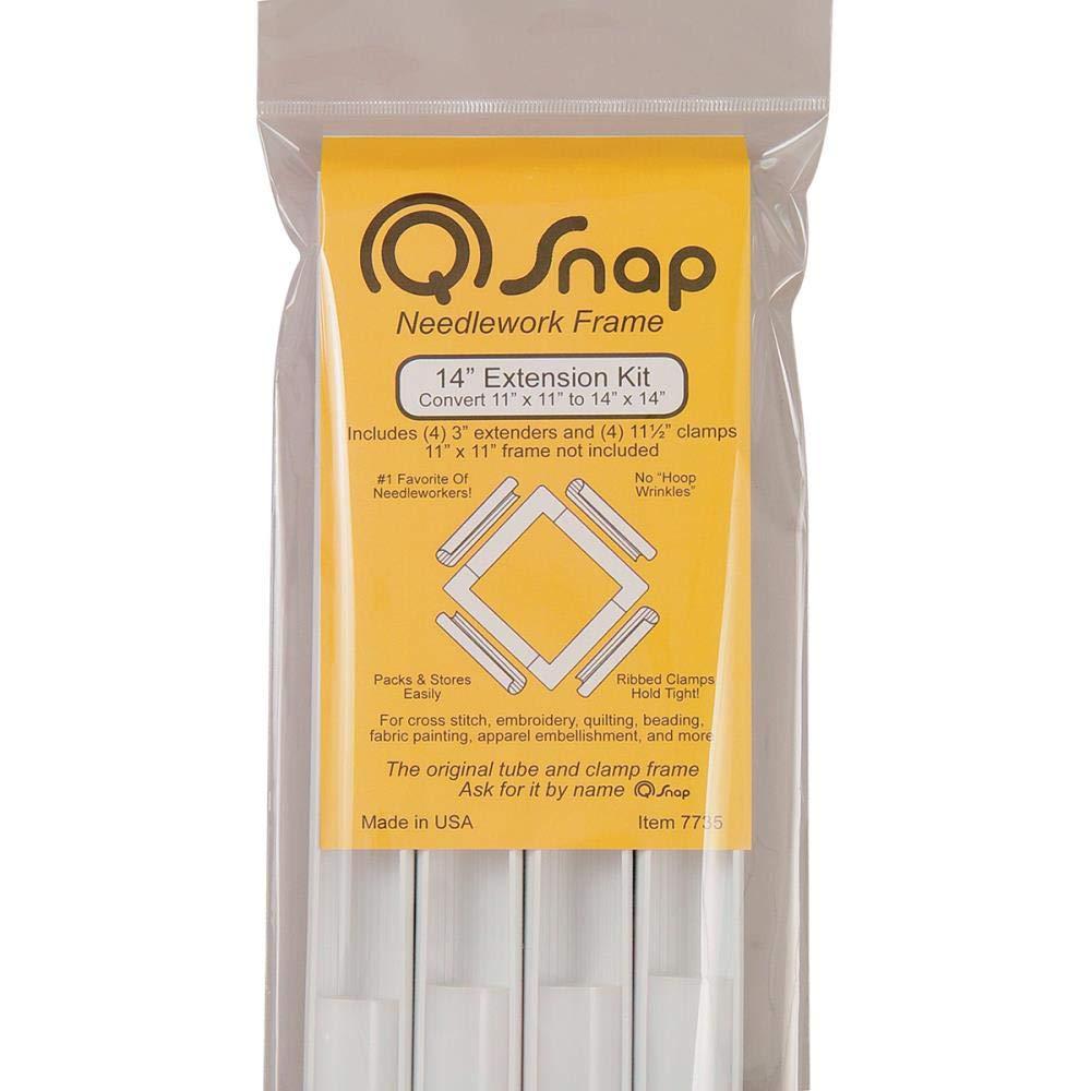 and Extension Kit 8x8 6x6 Q-Snap Needlework Frame Bundle: 11x11