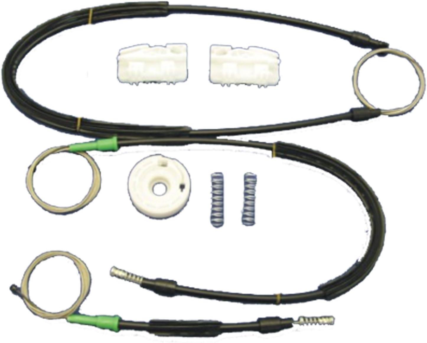 Landrover Freelander Window Regulator Repair Kit With Cables Rear Left Door