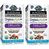 Garden of Life Dr. Formulated Probiotics Organic Kids Plus Chewable Tablet, 60 Count