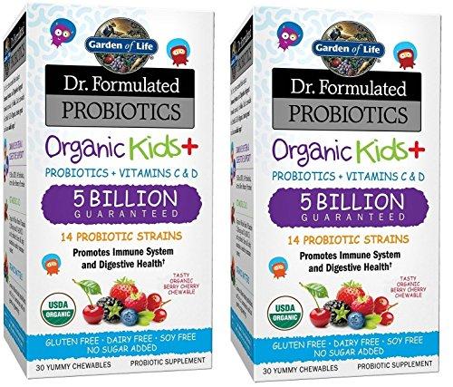 Garden Life Formulated Probiotics Chewable