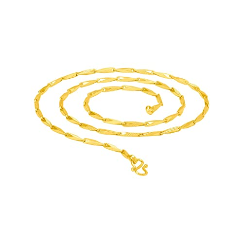 79a24d27b4430 Voylla Stainless Steel Chain with Gold Plating Jewelry Gifts for Men   Amazon.in  Jewellery