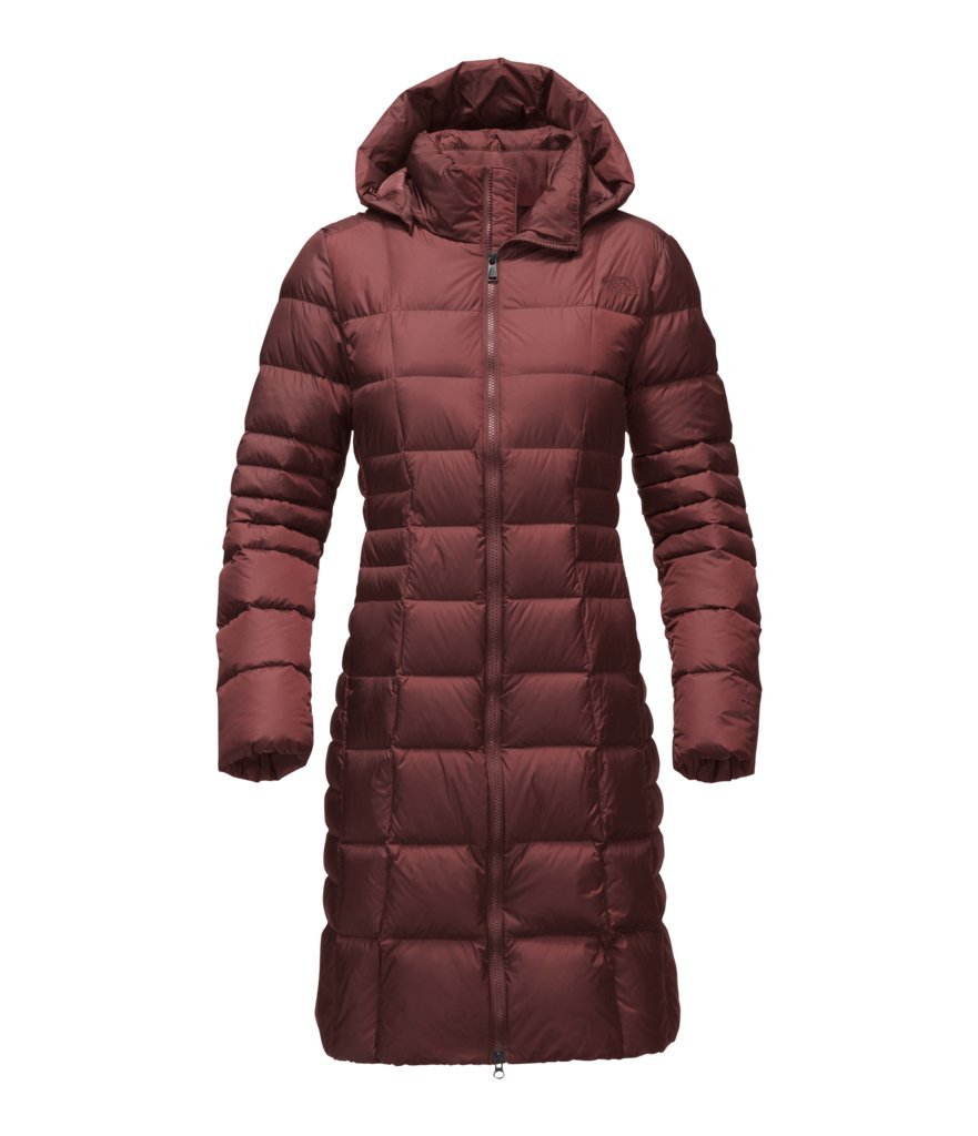 The North Face Women's Metropolis Parka II - Sequoia Red - S (Past Season) by The North Face