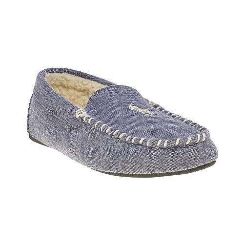 Polo Ralph Lauren Dezi Moccasin II Hombre Zapatillas Azul: Amazon.es: Zapatos y complementos