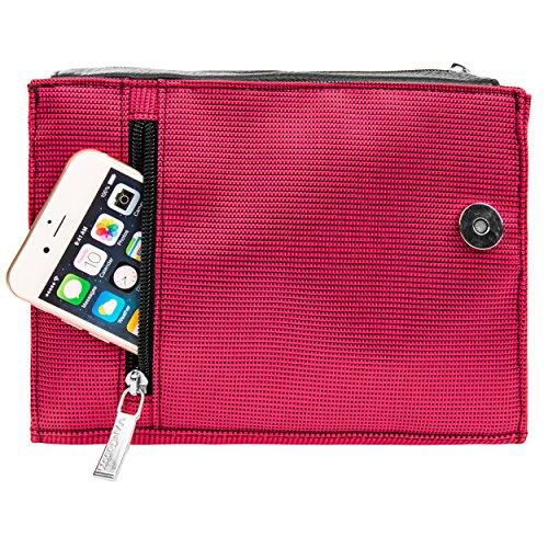 SLR Fits Zoom Accessory Ladies Pack Bag Bag Nikon DSLR Pink Cameras Shoulder Gadget Lens zqFqHYf