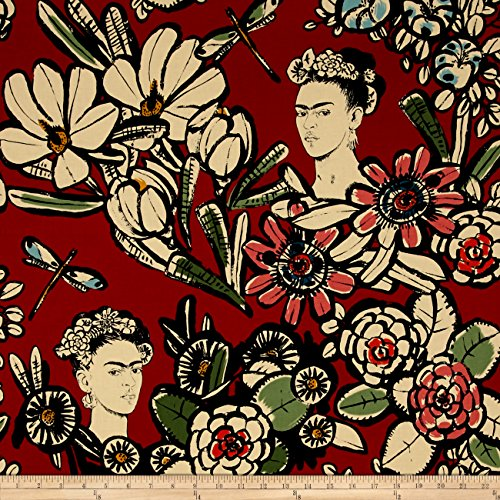 Henry Fabric Alexander (Alexander Henry Folklorico Cactus Flower Red Fabric by The Yard)