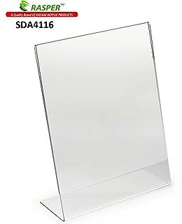 rasper acrylic name plate table desk name plate for office amazon