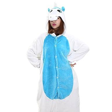 Yqdayshow Traje combinación pijama rana traje de animal disfraz cosplay fiesta para las mujeres (Color : Azul, tamaño : METRO): Amazon.es: Ropa y accesorios