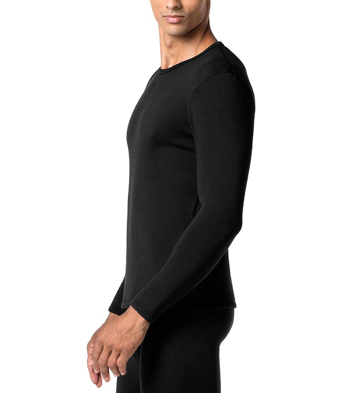LAPASA Uomo Maglia Termica Invernale Ad Alta Densità T-Shirt a Maniche Lunghe per I più Freddolosi Intimo Termico Confezione Regalo Heavyweight M26