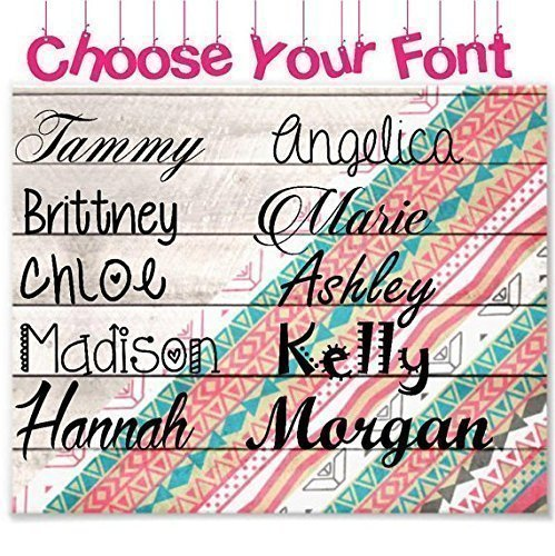 Personalized Name Vinyl Decal Sticker I Yeti Rambler Decal Tumbler Cup Name Decal
