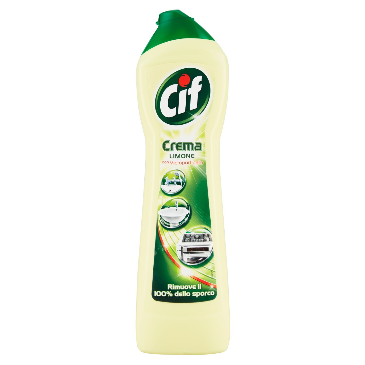 Cif lemon cream with Microparticles 500ml – 8 units [4 L] Unilever Italia (Retail)