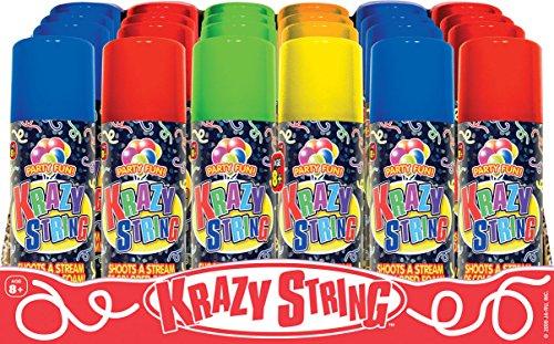 Ja-Ru Krazy String Party Favor Bundle, (Pack of 12)