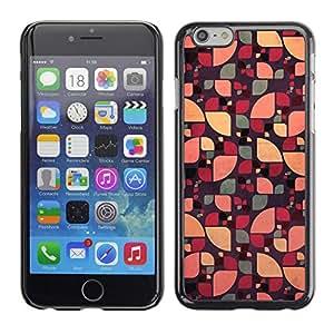 SKCASE Center / Funda Carcasa - Floral abstracto del color verde;;;;;;;; - iPhone 6
