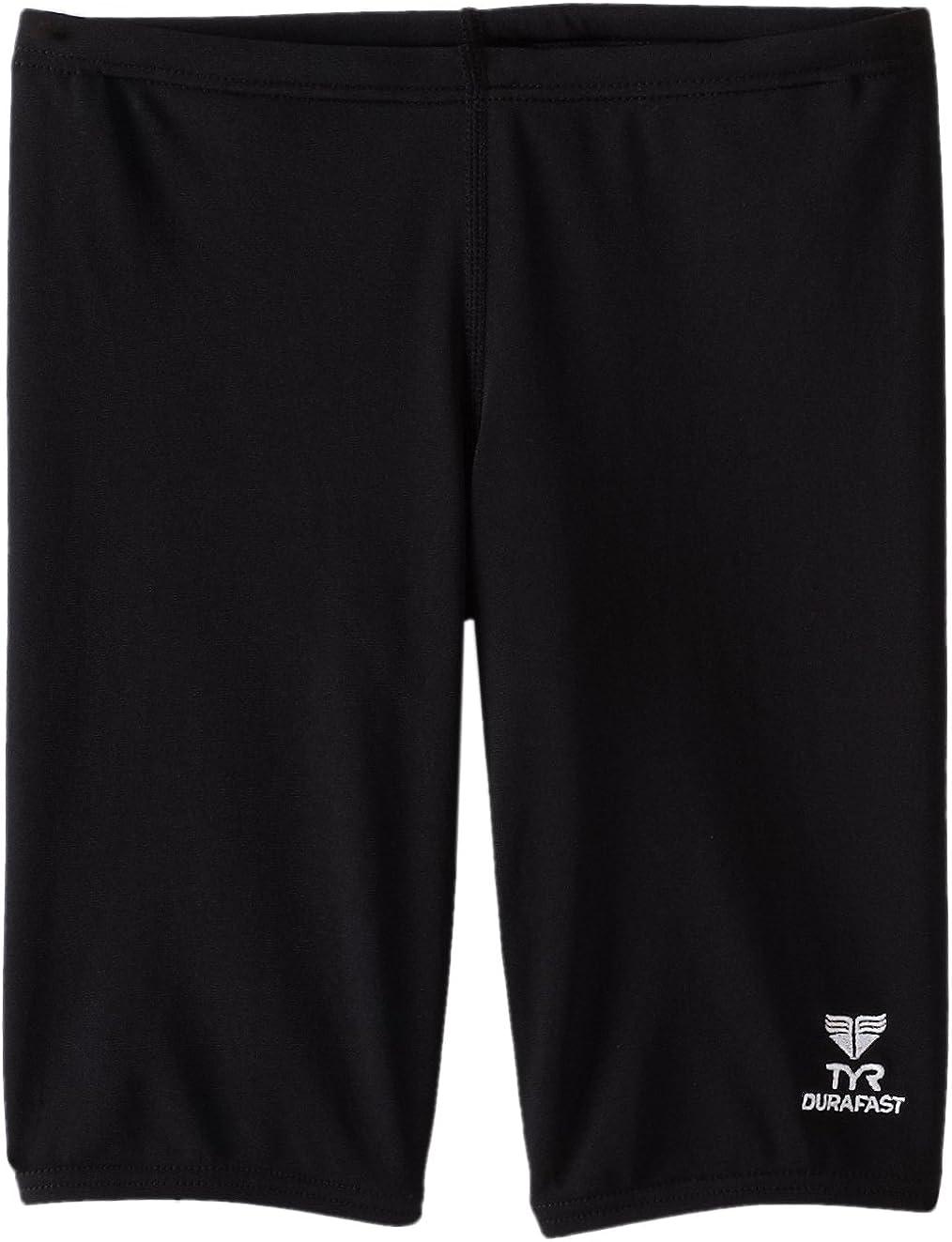 TYR Sport Boys' Solid Durafast Jammer Swim Suit