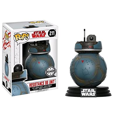 Funko Pop! Star Wars: The Last Jedi Resistance BB Unit (211): Toys & Games