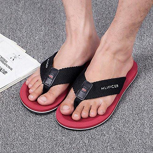 Da QIDI EU43 Maschio Indossare Pantofole Spiaggia Colore Scarpe Slittata Sandali dimensioni T2 Stagione UK9 Traspirante T1 Estiva 6xBq8xwr