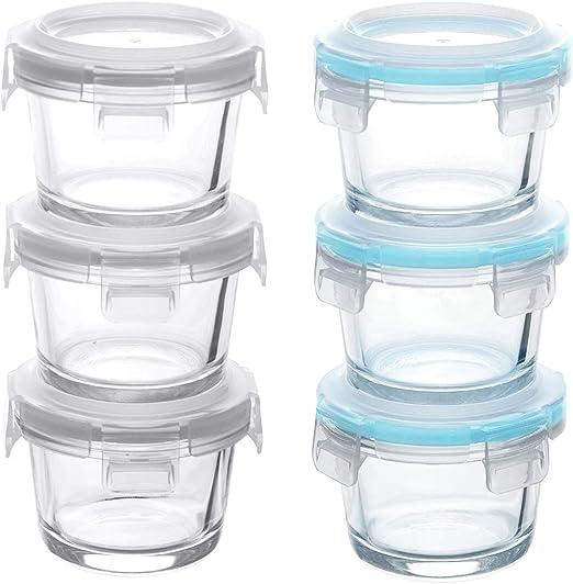 GRIZZLY Recipientes de vidrio para almacenamiento de alimentos ...