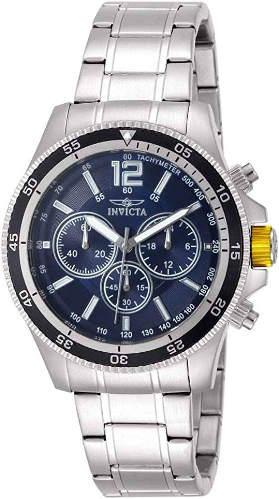 Invicta Men s 13974 Specialty Analog Display Japanese Quartz Silver Watch