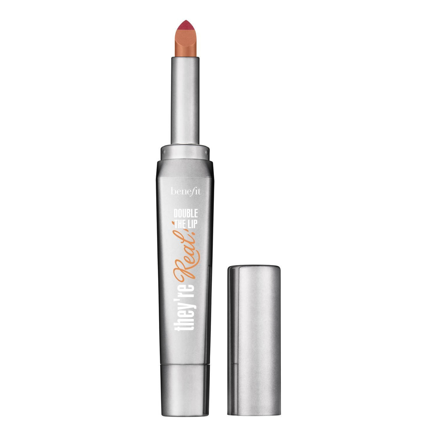 Benefit Cosmetics They're Real! Double The Lip Lipstick & Liner in One (Nude Scandal - pinky nude) 0.05 oz