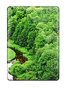 Super Stylish Case Cover Ipad Air Protective Case Stream Through The Rainforest by ruishername