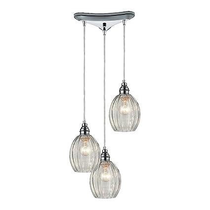 Elk lighting danica 3 light pendant polished chrome ceiling elk lighting danica 3 light pendant polished chrome aloadofball Image collections