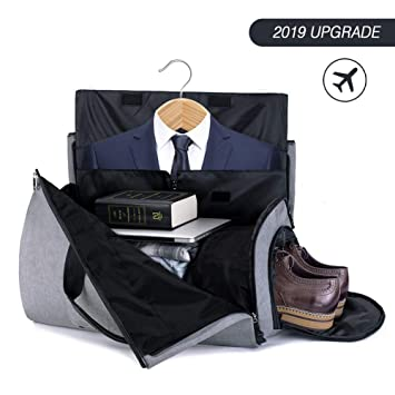 0d8111b78639 Duffle Bag Garment Bag Carry On Weekend Bag Flight Bag For Travel Sports  Gym (Including Shoes and Suits Compartment)