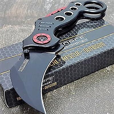 Tac-Force Tactical Pocket Knives Black Blade Tactical Knife from TAC Force :: Combat Knife :: Tactical Knife :: Hunting Knife :: Fixed Blade Knife :: Folding Blade Knife