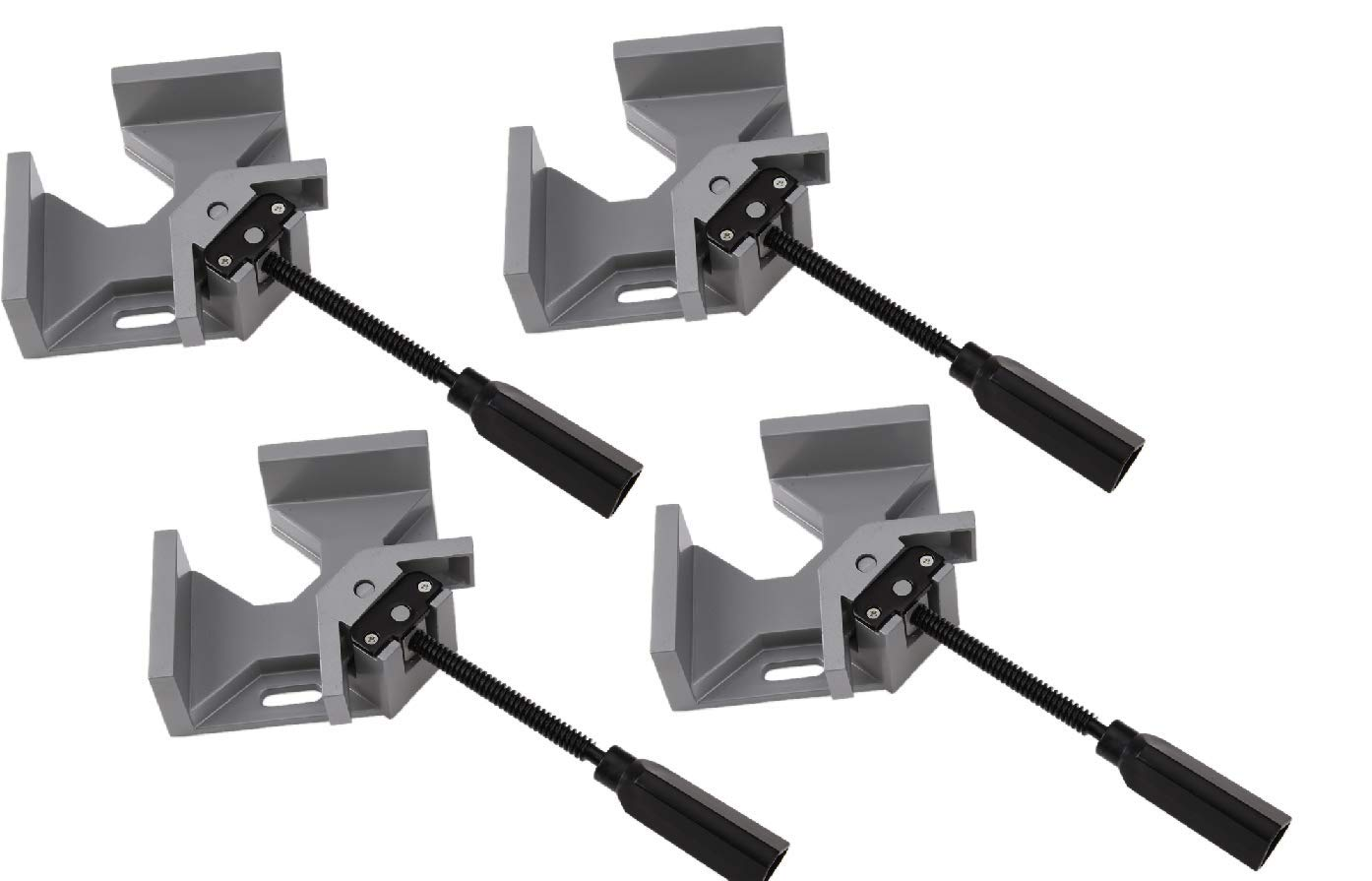 Rungfa Set of 4 Corner Right Angle Vice Clamps Metal Welding Woodworking 90 Degree